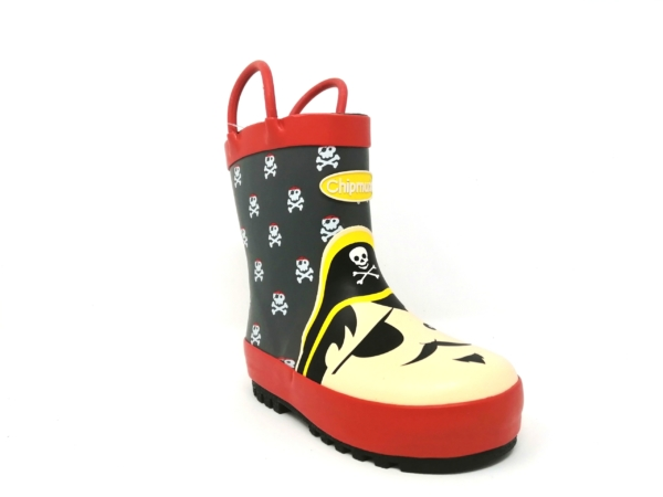 Chipmunks Unisex Wellies - BLACKBEARD