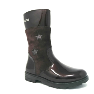 Ricosta Girls Highcalf Boots – HANNAH (Black Stars)