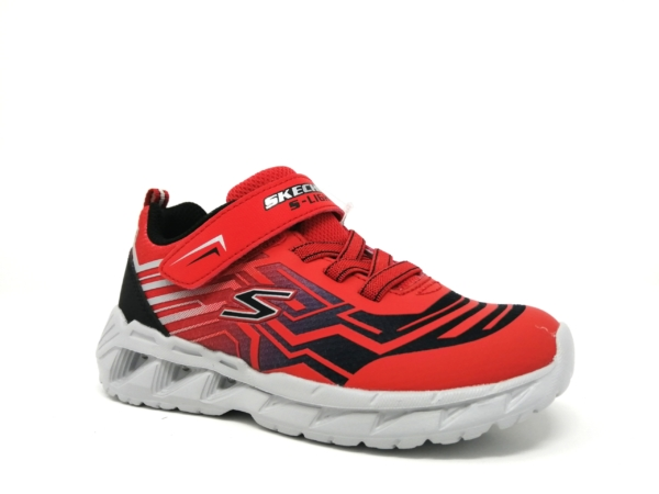 Skechers Boys Trainers - Bozler (Red)