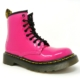 Dr Marten's Boots – Patent (Hot Pink)