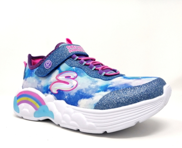 Skechers Girls Trainers - Rainbow Racer