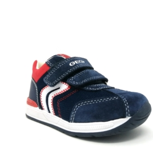 Geox Boys Trainers - Rishon (Navy)
