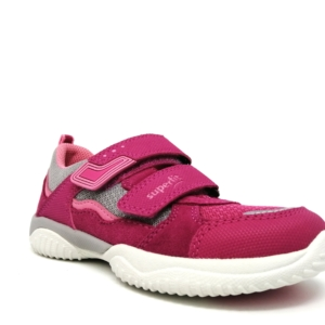 Superfit Girls Trainers - Storm (Rosa/Grau)