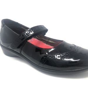 Ricosta Girls School Shoes - Becky (Patent)