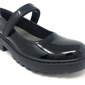 Geox Girls School Shoes - Casey (Strap Patent)