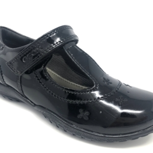 Geox Girls School Shoes - Shadow