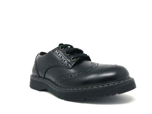 Angry Angel Girls School Shoes - Impulsive (Leather)