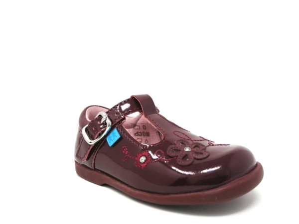 Startrite Girls Casual Shoes - Sunflower (Wine)