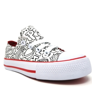 Jex canvas - comic red