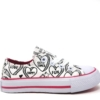 Jex canvas - hearts pink