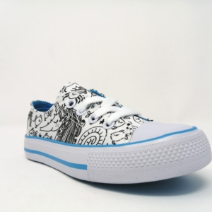 Jex canvas - mermaids light blue
