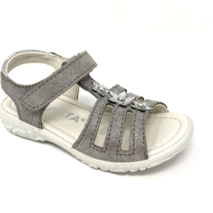 Ricosta Girls Sandals - Cleo (Graphite)