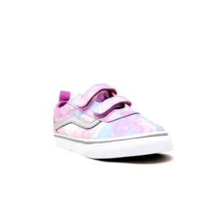 vans girls canvas multi/white