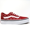 vans unisex canvas ward red/white