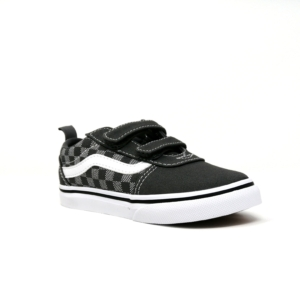 vans unisex ward v pewter/white checkered